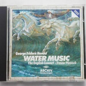 Handel: Water Music / Pinnock / The English Concert / DG Archiv CD 410 525-2