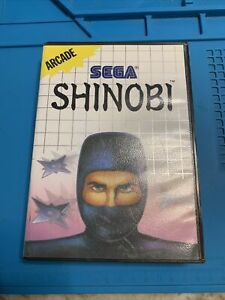 Shinobi (Sega Master System, 1988) No Manual Tested