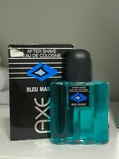 AXE BLEU MARINE ELIDA GIBBS After shave Eau de Cologne new in box UNUSED 100ml