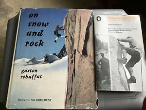 TWO MOUNTAINEERING/ ROCK CLIMBING BOOKS