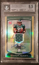 2009 LESEAN MCCOY BOWMAN CHROME ROOKIE AUTO/JERSEY #LMC, BGS 8.5 NM-MT 10 AUTO