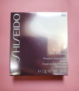 Shiseido Powdery Foundation B40 Natural Fair Beige Refill B 40