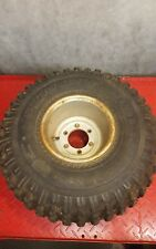 1983 suzuki alt 125 front rim and tire assembly