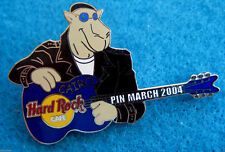 PROTOTYPE LE5 CAIRO EGYPT LEATHER JACKET COOL CAMEL GUITAR Hard Rock Cafe PIN
