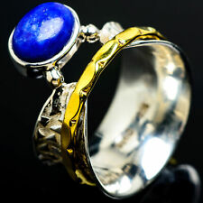 Lapis Lazuli Copper 925 Sterling Silver Ring Size 6.5 Ana Co Jewelry R6819F