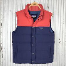 Patagonia Bivy Down Vest Jacket Mens sz M medium insulated puff 27586 $179