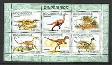 MOZAMBIQUE Sc 1780 NH MINISHEET of 2007 - DINOSAURS