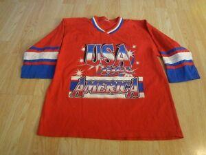 Youth Team USA XL Vintage 1996 OlympicsJersey T-Shirt Tee 3/4 Sleeve Jersey