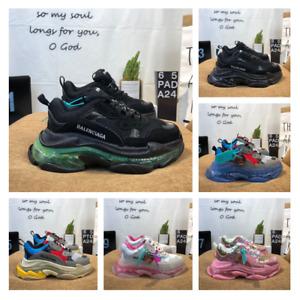 Balenciaga Schuhe Sneaker Oversize Triple Unisex Laufschuhe Atmungsaktiv 36-45