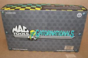 Action Mac Tools Gatornationals 1998 Hauler Mint Truck & Trailer in Box 1:64 MS3