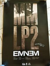 EMINEM Marshall Mathers MMLP2 MM LP Rare AUTOGRAPHED POSTER