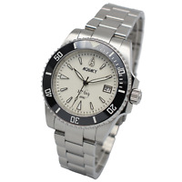 Aquacy 1769 Men's Automatic 300M Full Luminous Dive Watch ETA SWISS MOVEMENT