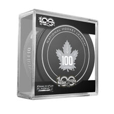 2017 NHL Toronto Maple Leafs Stanley Cup Playoffs Official On-Ice Hockey Puck