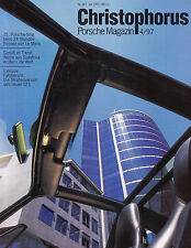 PORSCHE CHRISTOPHORUS Magazin 267 1997 GT1 Strassenversion 911 993 Targa /2