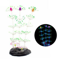 Artificial Decorative Aquarium Ornament Glowing Aquarium Decorations