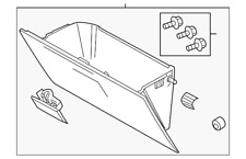 Genuine Ford Glove Box Assembly 8C3Z-2506024-AA