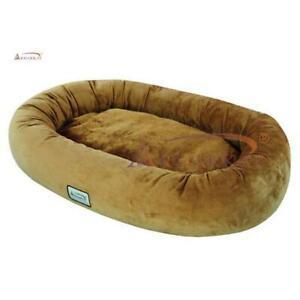 Aeromark D02CZS-L Armarkat Pet Bed 43 x 30 x 6 - Brown