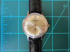 Working men's Glashutte Q1 Cal 70.1 manual winding watch from the sixties