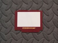 Game Boy Advance SP Red Famicom Color Protective Lens Screen Cover