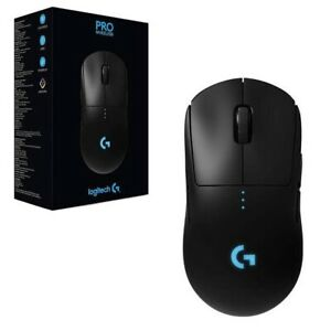 Logitech G Pro Wireless Gaming Mouse - Black - New Unopened! Warranty Included!