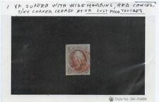 US SCOTT #1 XF - 4 Margins - Beautiful Stamp