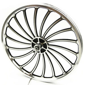 "16"" Bike Bicycle Disc Rim Brake Front Rear Wheel Set Speed Tyres"