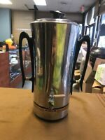 Universal Coffeematic Silver Used USA coffee maker pot
