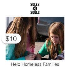 $10 Charitable Donation For: Soles4Souls Help Homeless Families
