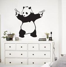 Vinyl Wall Decal Sticker Banksy Panda Street Wall Art Decor Graffiti Artist