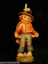 Anri Italian woodcarving Figurine statue poor boy Threadbare by Juan Ferrandiz