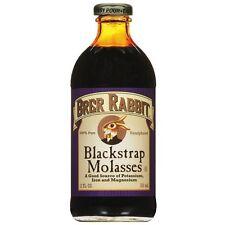 Brer Rabbit Blackstrap Molasses Unsulphured, 12 oz- 6 Pack