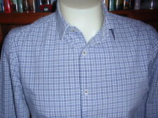 BANANA REPUBLIC Men's Shirt 100% Cotton Size 15-15.5 Long Sleeve Spread NWOT