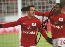 Spartak Moscú: José Manuel Jurado firmado 6x4 foto de acción + certificado De Autenticidad