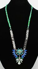 New Unique Rhinestone Statement Necklace by Robert Rose $38 Tags #N2679
