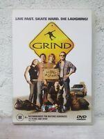 Grind DVD Bam Margera Skate Boarding Movie - RARE OOP