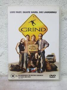 Grind DVD Bam Margera Skate Boarding 2003 Movie - RARE OOP - Australian Reg 4