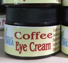 100% Natural Coffee Eye Cream,Coffee Infused Jojoba Oil, Coconut Oil, Beeswax