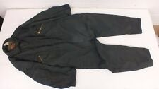 Vintage Walls Blizzard-Pruf Insulated Outerwear Dark Green Coveralls Large-Tall