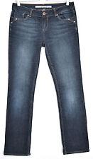 Topshop Indigo, Dark wash Mid L30 Jeans for Women