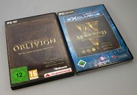 Elder Scrolls 3 & 4 Morrowind & Oblivion Game of the Year Edition inkl. Addons