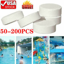 1-200X 15mm Chlorine Tablet Multifunction Instant Disinfection For Swimming Pool