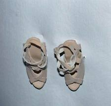 "Nu Mood High Heels Beige Sandals #1 High Heels 16"" Tonner Tyler MOC No Box"