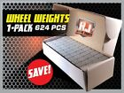 1 Box Wheel Weights 1/4 Oz Stick On Adhesive Tape 156 Oz 624 Pieces <br/> RJ AUTO PARTS SINCE 1984