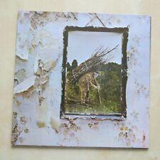 LED ZEPPELIN IV Zoso 1980s German reissue vinyl LP in gatefold with inner Ex