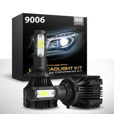 CREE 9006 HB4 9012 LED Headlights Lamp Light Bulbs Conversion Kit 500W 50000LM