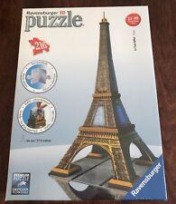 New Eiffel Tower 3D Puzzle - 216 pcs. - Jigsaw Puzzle by Ravensburger (12556)