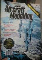SCALE AIRCRAFT MODELLING  VOL.6  NUMBER 5  MAGAZINE FEB 1984 HALIFAX