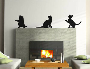 Cat wall stickers | Cat decals for walls | Cat wall art stickers | Cat stickers