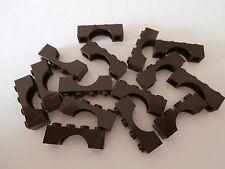 LEGO CITY 15 Brückensteine 3659 dunkelbraun / dark brown 1x4x1   NEUWARE
