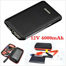 6000mAh Portable Car Auto Jump Start Pack Booster Charger Battery Power Bank LED